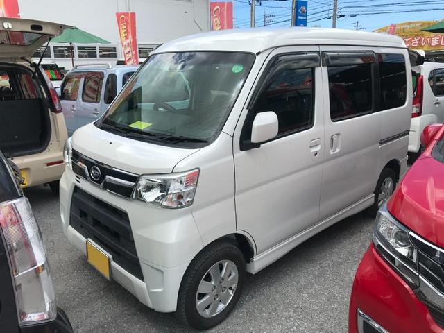 沖縄県沖縄市の中古車ならアトレーワゴン カスタムターボRS SAIII ナビTV・アイドリングストップ コーナーセンサー