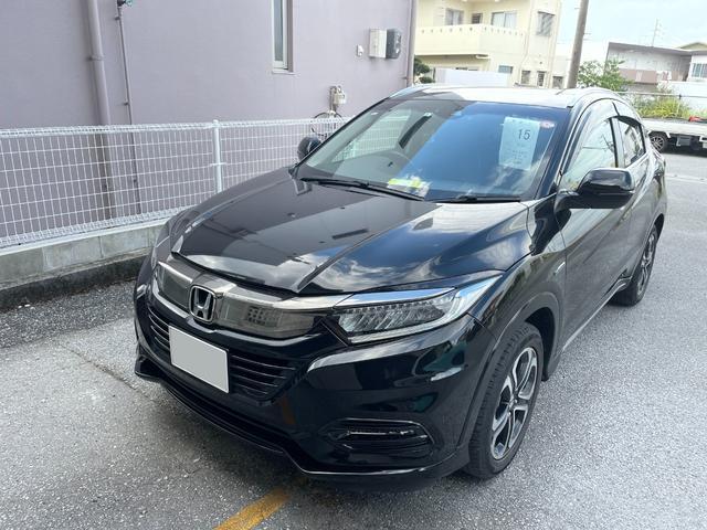 沖縄県の中古車ならヴェゼル ハイブリッドZ・ホンダセンシング ナビ ブルートゥース
