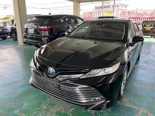 沖縄県の中古車ならカムリ G ハイブリッド ナビTV ブルートゥース