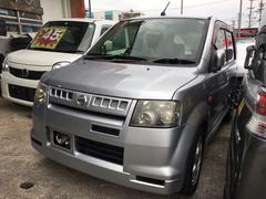 沖縄の中古車 日産 オッティ 車両価格 18万円 リ済込 平成18年 10.7万K クールシルバーM