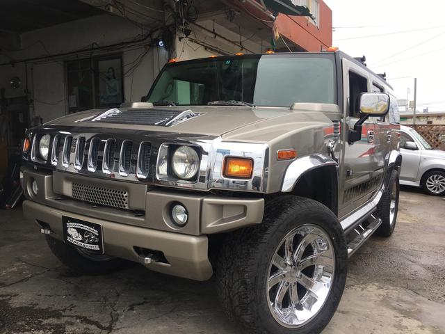 沖縄の中古車 ハマー ハマー H2 車両価格 325万円 リ済込 2004(平成16)年 9.7万km ゴールドM