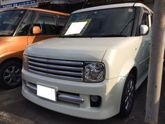 沖縄の中古車 日産 キューブキュービック 車両価格 26万円 リ済込 平成16年 17.2万K ホワイトパール