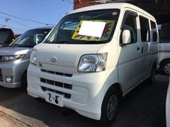 沖縄の中古車 ダイハツ ハイゼットカーゴ 車両価格 44万円 リ済別 平成22年 15.1万K ホワイト