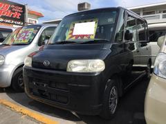 沖縄の中古車 ダイハツ タント 車両価格 18万円 リ済込 平成17年 22.5万K ブラックマイカ
