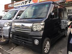 沖縄の中古車 ダイハツ アトレーワゴン 車両価格 38万円 リ済込 平成18年 16.8万K ブラックマイカ
