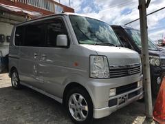 沖縄の中古車 スズキ エブリイワゴン 車両価格 48万円 リ済込 平成18年 15.7万K シルキーシルバーメタリック