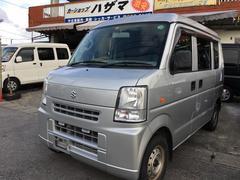 沖縄の中古車 スズキ エブリイ 車両価格 46万円 リ済込 平成23年 11.8万K シルキーシルバーメタリック