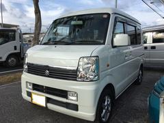 沖縄の中古車 スズキ エブリイワゴン 車両価格 38万円 リ済込 平成20年 25.0万K パールホワイト