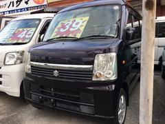 沖縄の中古車 スズキ エブリイワゴン 車両価格 38万円 リ済込 平成20年 21.5万K ミステリアスバイオレットパール