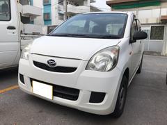 沖縄の中古車 ダイハツ ミラ 車両価格 18万円 リ済込 平成20年 13.6万K オフホワイト