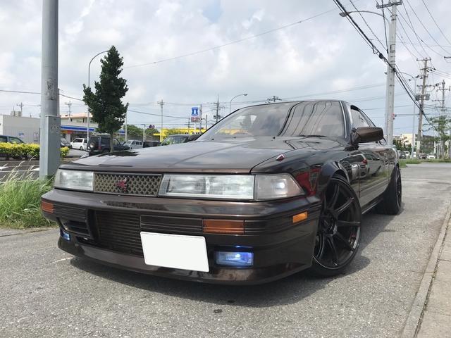 沖縄の中古車 トヨタ ソアラ 車両価格 165万円 リ済込 1990(平成2)年 17.6万km ブラウンM