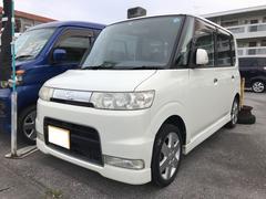 沖縄の中古車 ダイハツ タント 車両価格 14万円 リ済込 平成17年 18.2万K パールホワイトI