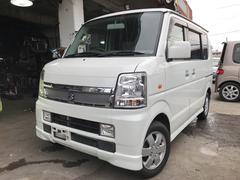 沖縄の中古車 スズキ エブリイワゴン 車両価格 47万円 リ済込 平成20年 15.1万K パールホワイト
