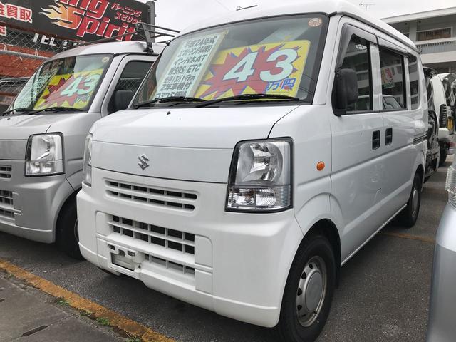 沖縄の中古車 スズキ エブリイ 車両価格 42万円 リ済込 2012(平成24)年 13.1万km スペリアホワイト