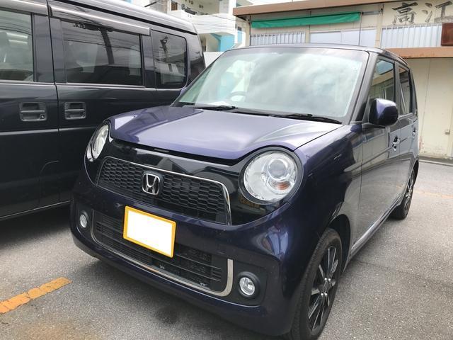 沖縄の中古車 ホンダ N-ONE 車両価格 46万円 リ済込 2013(平成25)年 19.3万km 紺M