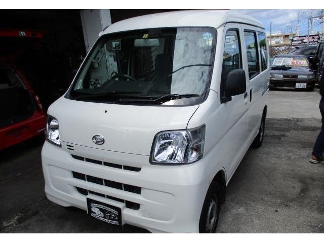 沖縄の中古車 ダイハツ ハイゼットカーゴ 車両価格 39万円 リ済込 2011(平成23)年 11.0万km ホワイト