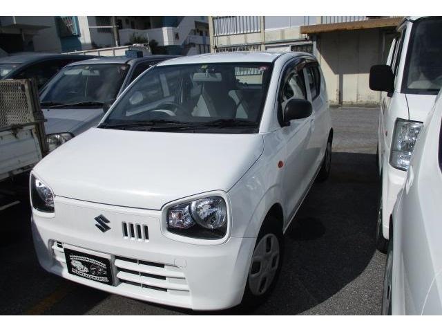 沖縄の中古車 スズキ アルト 車両価格 39万円 リ済込 2015(平成27)年 7.7万km スペリアホワイト