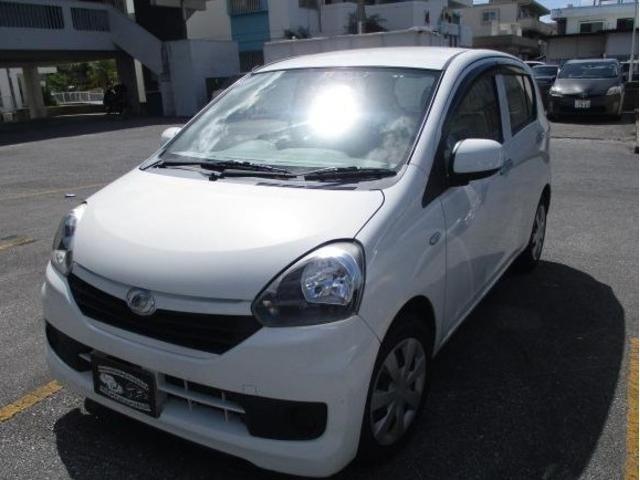 沖縄の中古車 ダイハツ ミライース 車両価格 43万円 リ済込 2015(平成27)年 8.0万km ホワイト