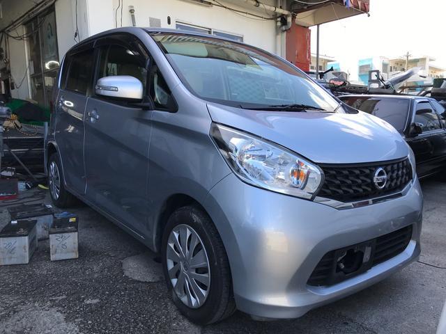沖縄の中古車 日産 デイズ 車両価格 43万円 リ済込 2015(平成27)年 11.7万km クールシルバーM