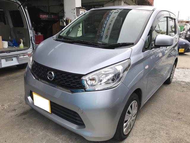 沖縄の中古車 日産 デイズ 車両価格 42万円 リ済込 2014(平成26)年 10.7万km クールシルバーM