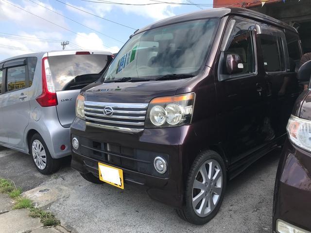 沖縄県の中古車ならアトレーワゴン カスタムターボRS キーレス 左パワースライドドア オールペン済み