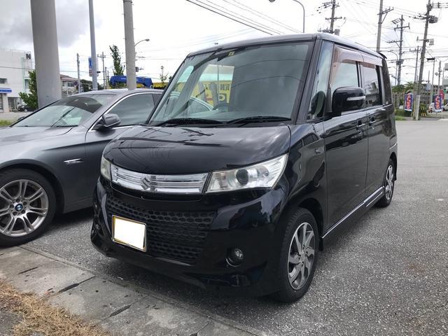 沖縄県の中古車ならパレットSW XS スマートキー プッシュスタート 左パワースライドドア ナビ 純正アルミ