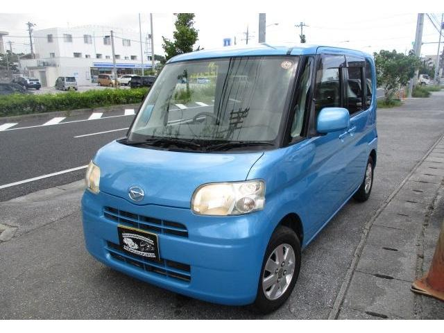 沖縄の中古車 ダイハツ タント 車両価格 35万円 リ済込 2008(平成20)年 7.9万km ブルーM