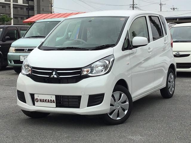 三菱 E 登録済未使用車 新車保証継承付
