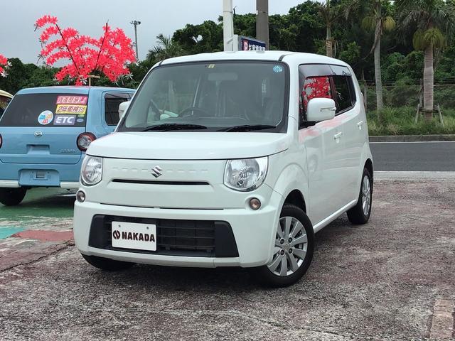 沖縄の中古車 スズキ MRワゴン 車両価格 64万円 リ済別 2014(平成26)年 6.4万km パール