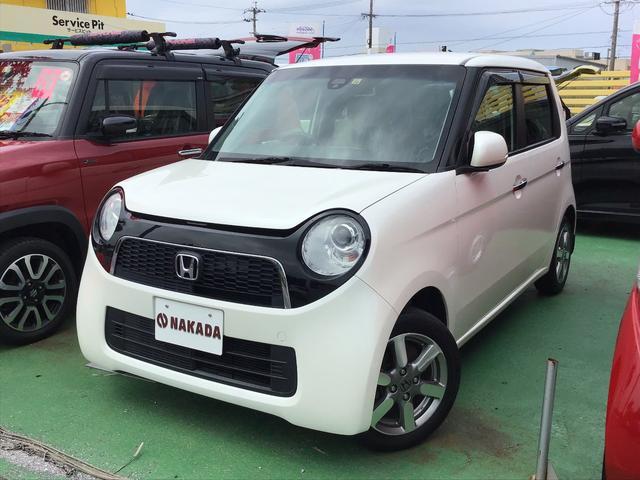 沖縄の中古車 ホンダ N-ONE 車両価格 80万円 リ済別 2014(平成26)年 7.8万km プレミアムホワイトパール