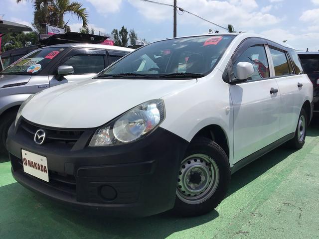 沖縄の中古車 マツダ ファミリアバン 車両価格 55万円 リ済別 2013(平成25)年 8.9万km ホワイト