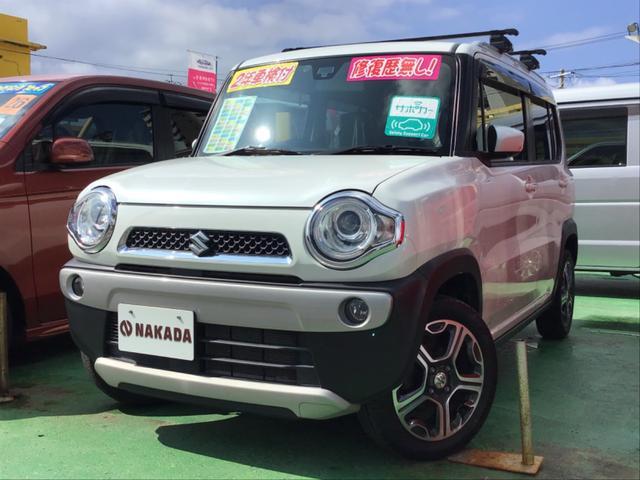 沖縄県の中古車ならハスラー Xターボ レーダーブレーキサポート