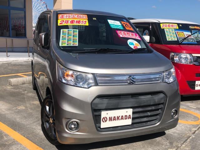 沖縄県中頭郡嘉手納町の中古車ならワゴンRスティングレー T