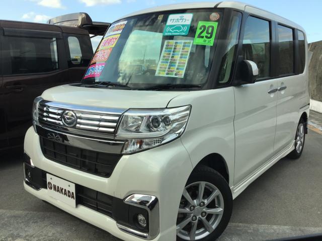 沖縄県の中古車ならタント カスタムX SAIII