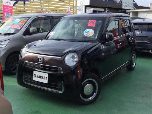 沖縄の中古車 ホンダ N-ONE 車両価格 95万円 リ済別 2016(平成28)年 5.6万km スマートブラックII