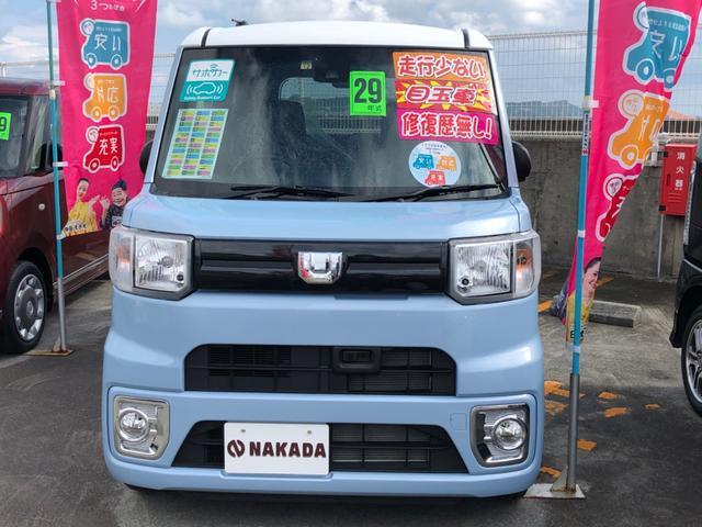 沖縄の中古車 ダイハツ ウェイク 車両価格 141万円 リ済別 2017(平成29)年 0.3万km ミストブルーマイカメタリック
