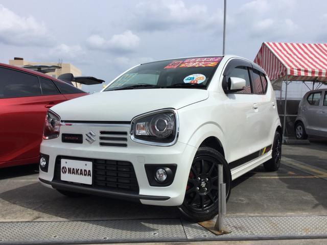 沖縄県の中古車ならアルトワークス 4WD 5MT 純正レカロシート