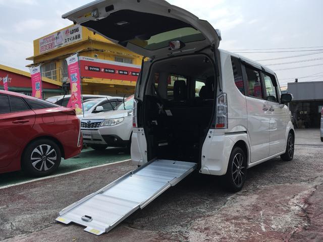 沖縄県の中古車ならN-BOX+ G・Lパッケージ 福祉車両 スローパー