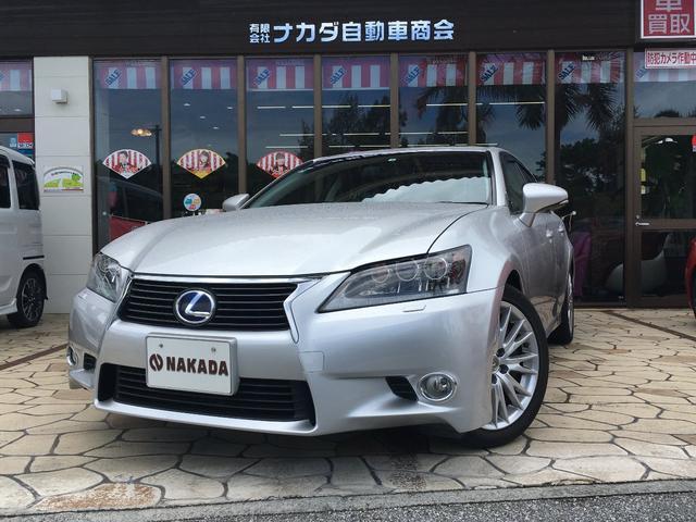 沖縄の中古車 レクサス GS 車両価格 173万円 リ済別 2012(平成24)年 10.4万km ソニックシルバー