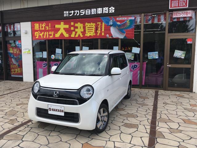 沖縄の中古車 ホンダ N-ONE 車両価格 95万円 リ済別 2017(平成29)年 6.3万km プラチナホワイトパール