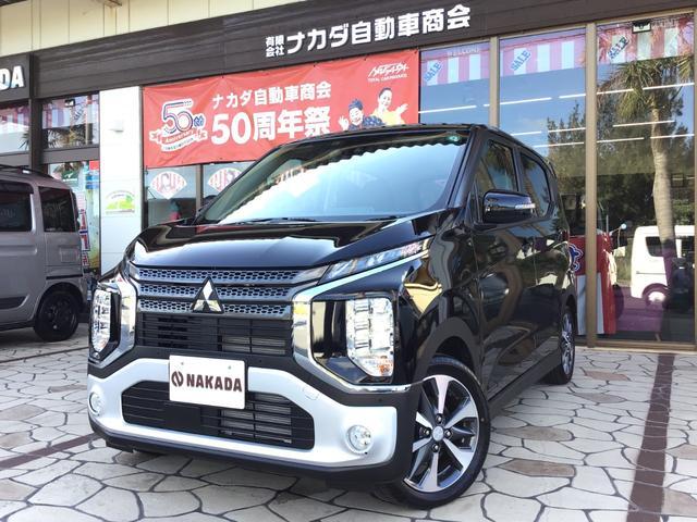 沖縄の中古車 三菱 eKクロス 車両価格 151万円 リ済別 2020(令和2)年 20km ブラックマイカ
