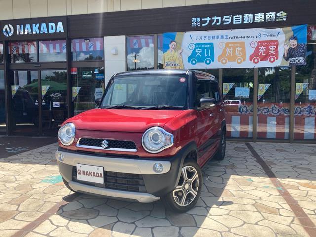 沖縄の中古車 スズキ ハスラー 車両価格 115万円 リ済別 2016(平成28)年 6.0万km フェニックスレッドパールII