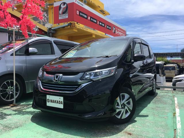 沖縄県の中古車ならフリードハイブリッド ハイブリッド・Gホンダセンシング 両側電動スライド 社外ナビ TV