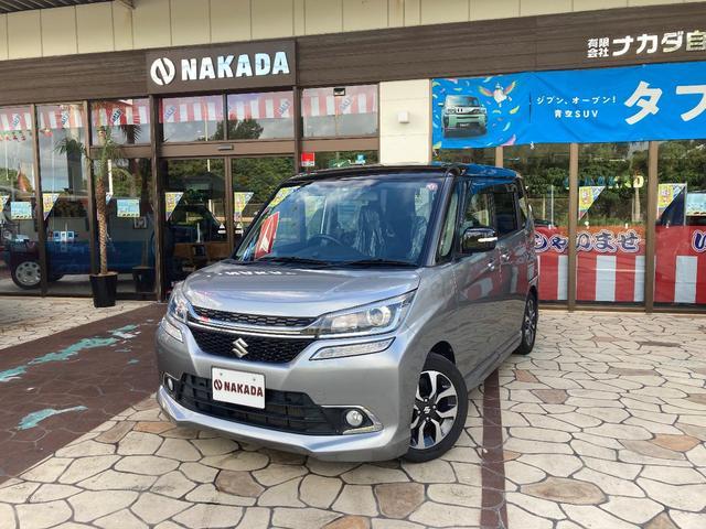 沖縄県うるま市の中古車ならソリオバンディット ハイブリッドMV 両側電動スライド デュアルブレーキサポート