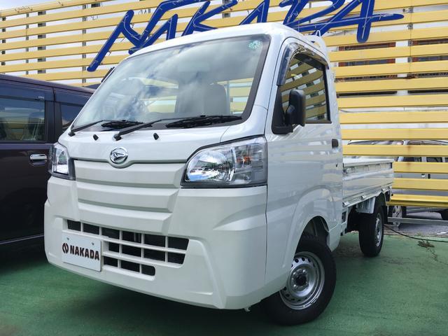 沖縄の中古車 ダイハツ ハイゼットトラック 車両価格 96万円 リ済別 2020(令和2)年 20km ホワイト