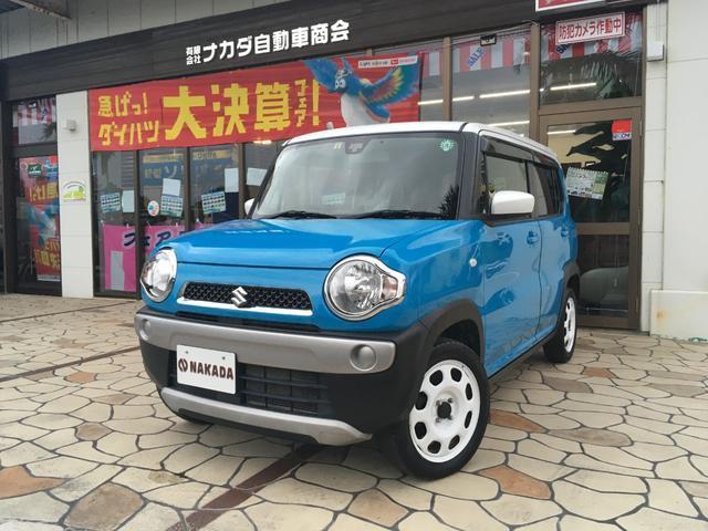 沖縄県中頭郡嘉手納町の中古車ならハスラー Gターボ レーダーブレーキサポート 新車ワンオーナー