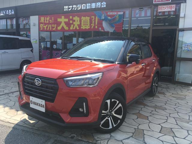 沖縄県の中古車ならロッキー G 純正ナビ TV 新車保証継承