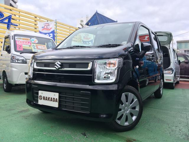 沖縄の中古車 スズキ ワゴンR 車両価格 126万円 リ済別 2020(令和2)年 20km ブルーイッシュブラックパール3