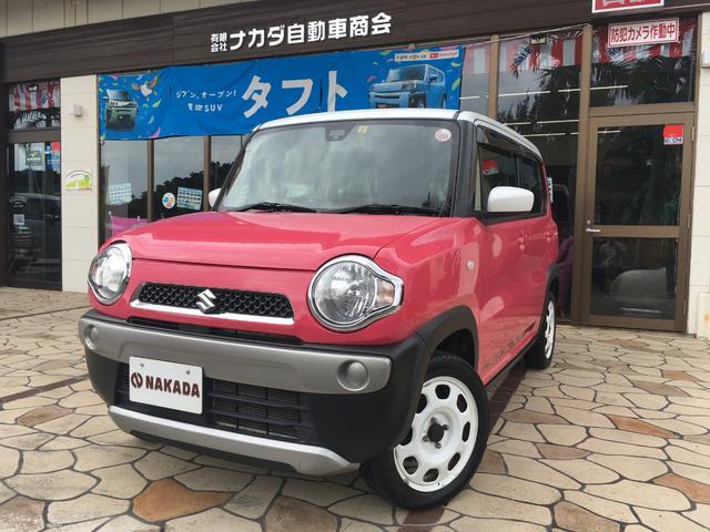沖縄県中頭郡嘉手納町の中古車ならハスラー G レーダーブレーキサポート 純正ナビ フルセグTV Bluetoothオーディオ