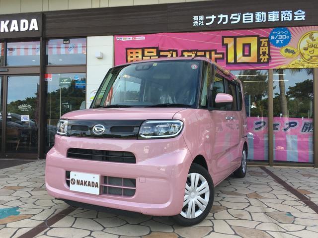 沖縄県の中古車ならタント X 自社デモカーUP 純正9インチナビ 全方位カメラ 電動スライドドア